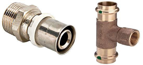 Пресс-фитинги на металлопластик и медь